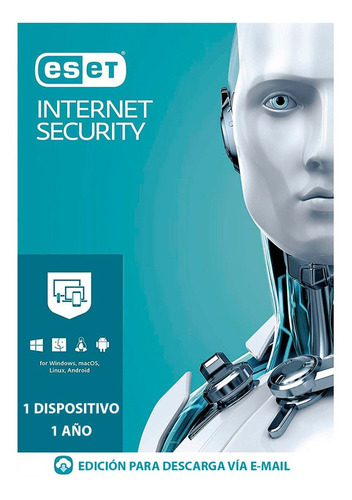 Eset Internet Security 1 Pc 1 Año - Digital