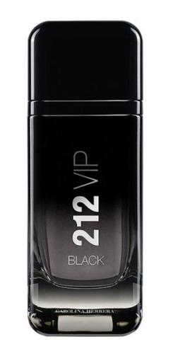 Carolina Herrera 212 Vip Black Edp 200ml Para Homem