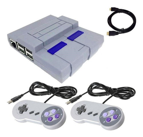 Mini Super Nintendo 10 Mil Jogos 2 Controles Envio Imediato!