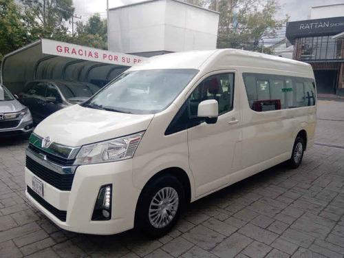 Toyota Hiace 2021 4p L6/3.5 Man 12/pas