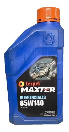 Aceite Terpel Maxter Diferenciales 85w140 Por Cuarto