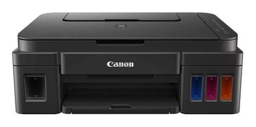 Impresora A Color Multifunción Canon Pixma G3110 Con Wifi Negra 110v/220v