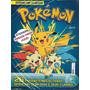 Revista De Atividades Com 120 Adesivos Pokémon