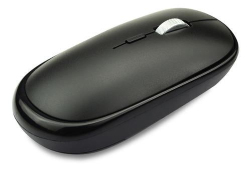 Mouse Inalámbrico Recargable Negro Tedge