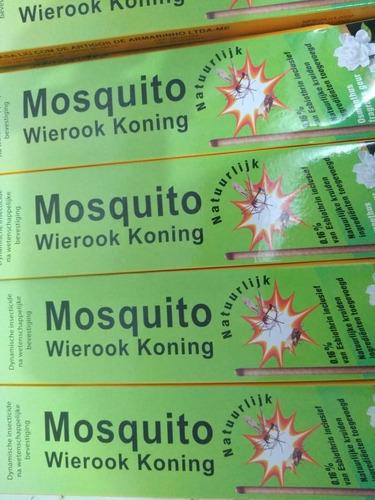 Repelente Mosquito Wierook Koning Original 100 Unidades