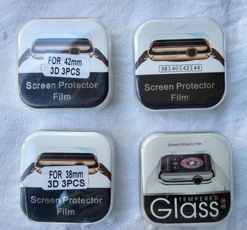 Film Vidrio Templado Para Reloj Apple Watch - 44 Mm - Pack 3