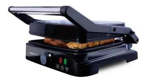 Mega Grill Asteria Mallory Em Inox C/ Abertura 180º E 1270w