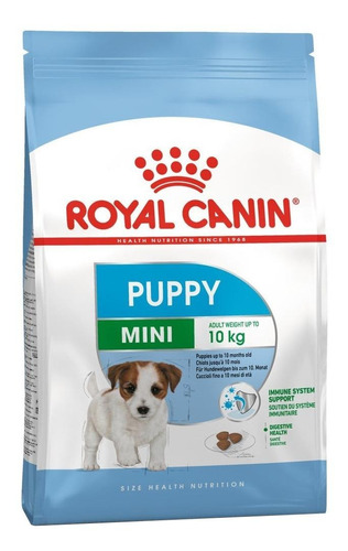 Alimento Royal Canin Size Health Nutrition Mini Puppy Para Cachorro Filhote De Raça Mini Sabor Mix Em Saco De 1kg