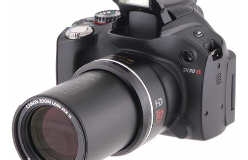 Câmera Canon Powershot Sx30is Beteria E Carregador Bolsa