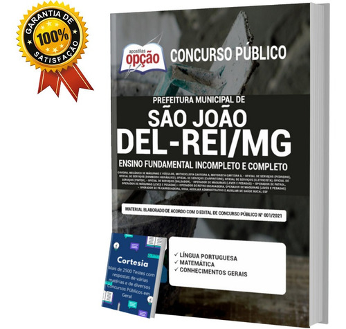 Apostila São João Del rei Mg Ensino Fundamental Completo
