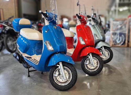 Mondial Scooters Allegro 150 C/baul 0km Envios Todo El Pais