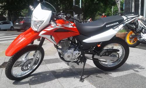Honda Xr 150 L 2021 Ahora 12/ 18 0km Financiada Centro Motos