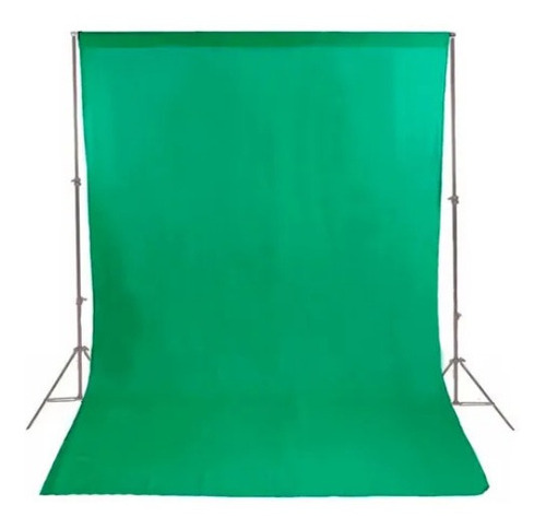 1 Tecido 3x3 Verde Estudio Foto Fundo Iinito Chroma Key Original