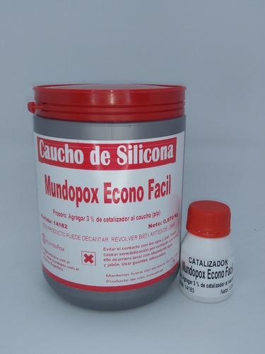 Nuevo Econo Fácil El Caucho Simple Silicona Moldes X 1 Kg
