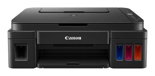 Impresora A Color Multifunción Canon Pixma G2110 Negra 220v