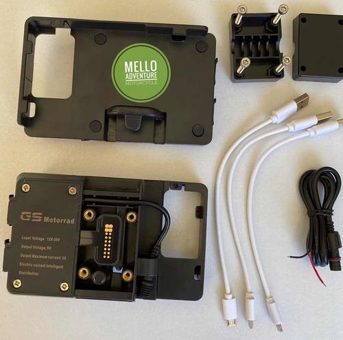 Adaptador Suporte Celular Bmw Gs850 1200 1250 Pronta Entrega