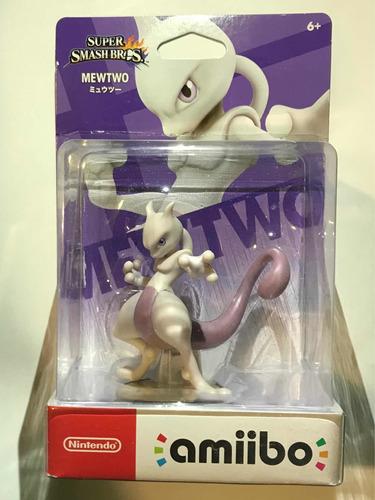 Amiibo Pokemon Mewtwo Super Smash Bros