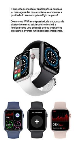 Smartwatch Iwo W37 Serie 7 Relógio Inteligente (original)