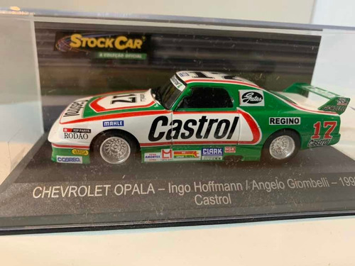 Carrinho Chevrolet Opala Stockcar 17 - Ingo Hoffmann