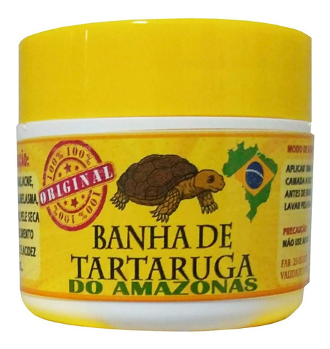 Banha  Tartaruga 6und + 7 Sabonetes De Banha((100%)) Pura