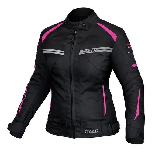 Jaqueta Feminina X11 One 2 Moto 100% Impermeável Proteção