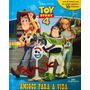 Livro Com 10 Miniaturas Disney Pixar Toy Story 4