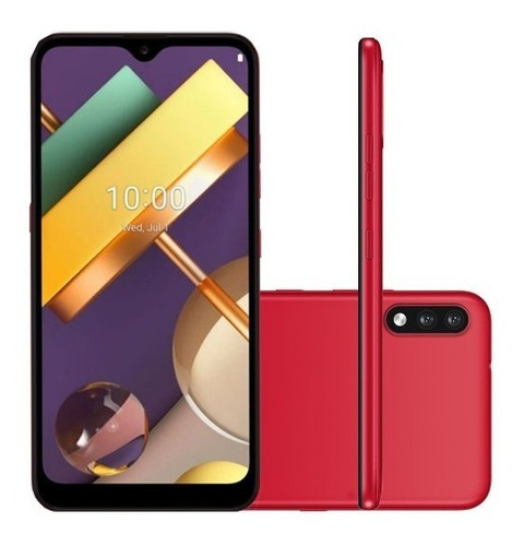 Smartphone LG K22 Tela 6,2 32gb 2gb Ram Android Vermelho