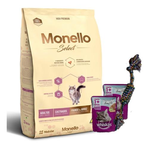 Monello Gato Castrado 7kg + Salsa + Regalo + Envío