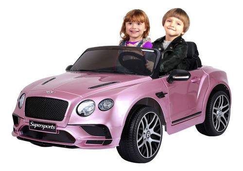 Carrinho Elétrico Infantil 12v Bentley Continental 2 Lugares