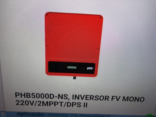Inversor Solar Phb5000-ns 220 Volts Monofasico
