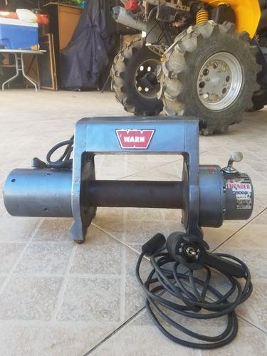 Winche Warn 9000 Libras Modelo Xd9000i En Perfecto Estado