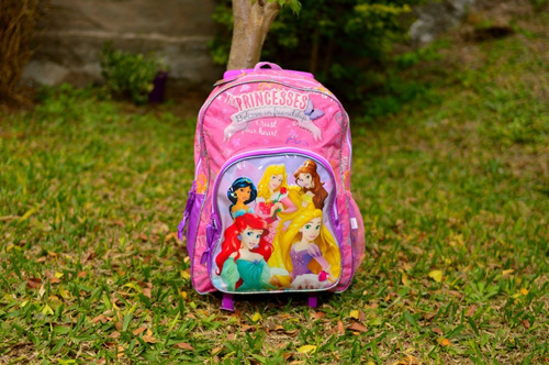 Mochila Disney Princesas Carrito 16