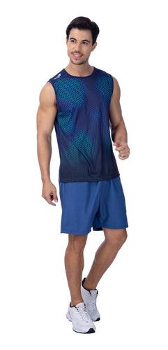 Bermuda Masculina Básica Clássica Topper Azul Marinho