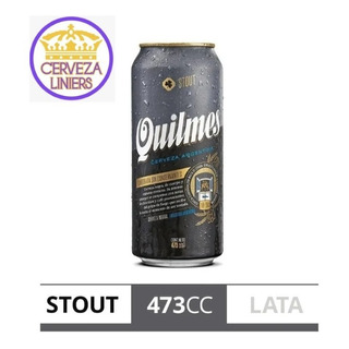 Cerveza Quilmes Stout Lata 473 Ml Liniers Mataderos L Mirad