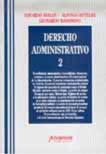 Derecho Administrativo T 2 Ávalos