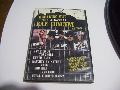 Dvd Breaking Out The Alcatraz Rap Concert Ao Vivo Original
