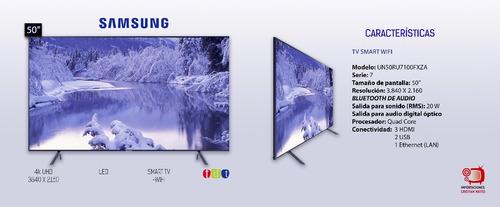Televisor Samsung 50 Pulgadas Uhd 4k 50ru7100 Smart Tv