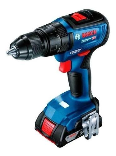 Furadeira Elétrica De Impacto E Parafusadeira Bosch Professional Gsb 18v-50 Sem Fio 1800rpm Azul 18v Com L-case