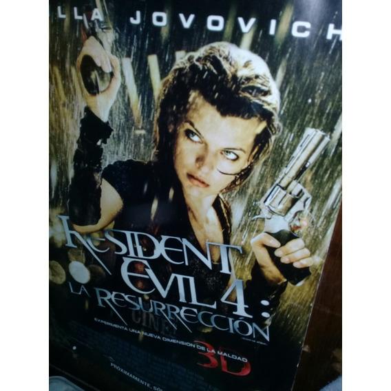 Poster De Resident Evil La Pelicula