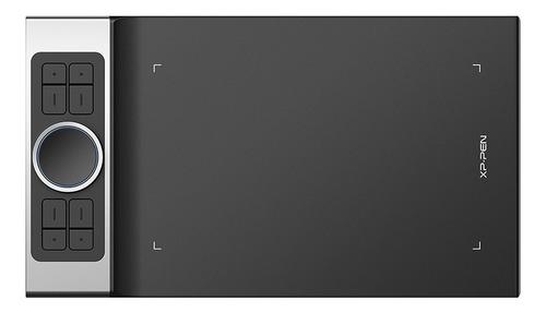 Tableta Gráfica Xp-pen Deco Pro Medium Negra Y Plateada