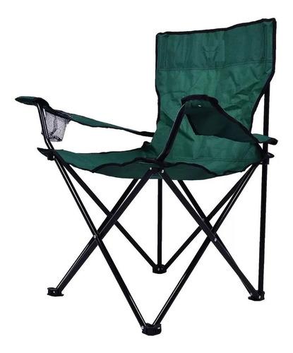 Cadeira Dobrável C/ Apoio Camping Pesca Kala + Bolsa