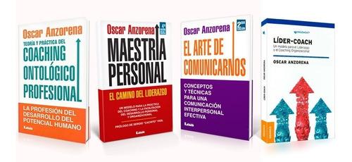 Libros De Coaching - Colección - Oscar Anzorena