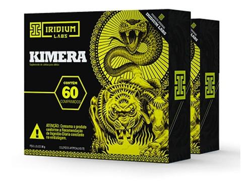 Kit 2x Kimera Thermo - 120 Comps - Termogênico Iridium Labs Original