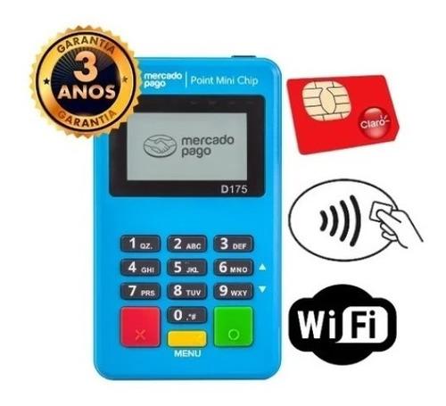 Mini Chip - Máquina De Cartão Com Internet Grátis - Promoção