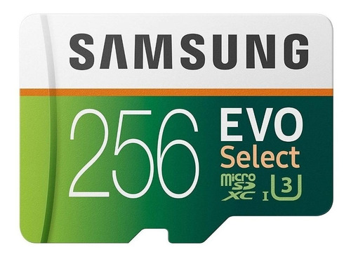 Tarjeta De Memoria Samsung Mb-me256ha/am  Evo Select Con Adaptador Sd 256gb