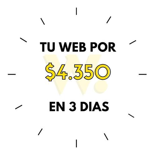 Diseño Pagina Web Tienda Nube