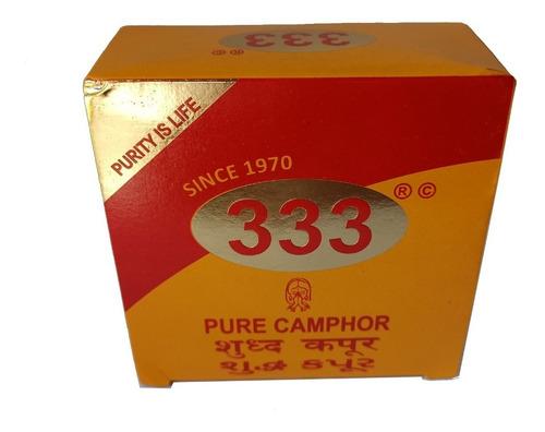 Pastillas De Alcanfor 333 X Caja (80 U.) . - Pacha Kuyuy