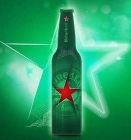 Garrafa De Alumínio Da Heineken Celebrations 330 Ml  Lacrada