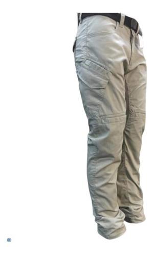 Calça Jeans Com Proteção Motociclista Hlx Defender Areia