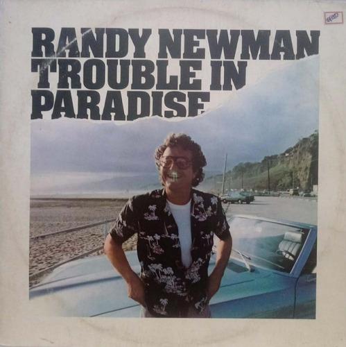 Lp Randy Newman - Trouble In Paradise Original